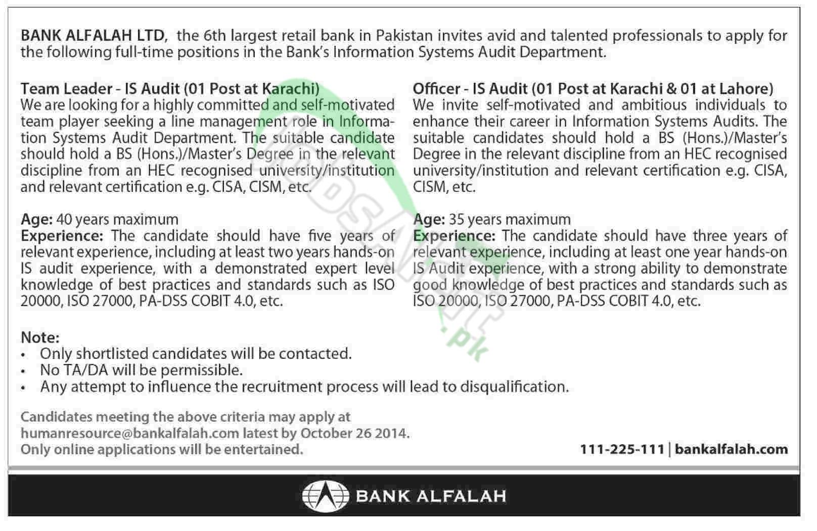 Bank Alfalah Ltd