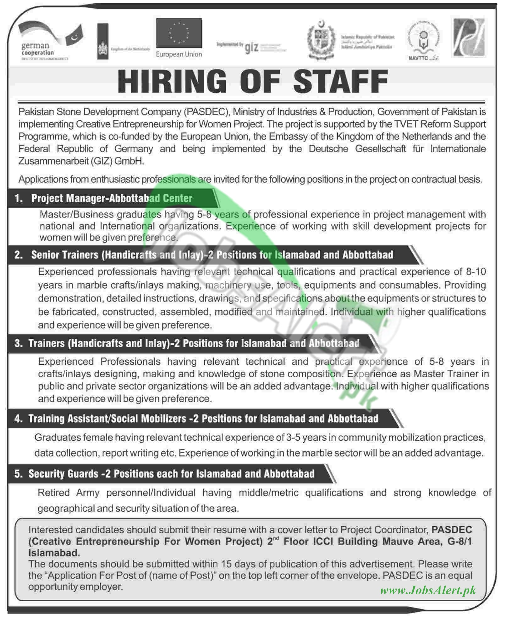 Pakistan Stone Development Company (PASDEC)