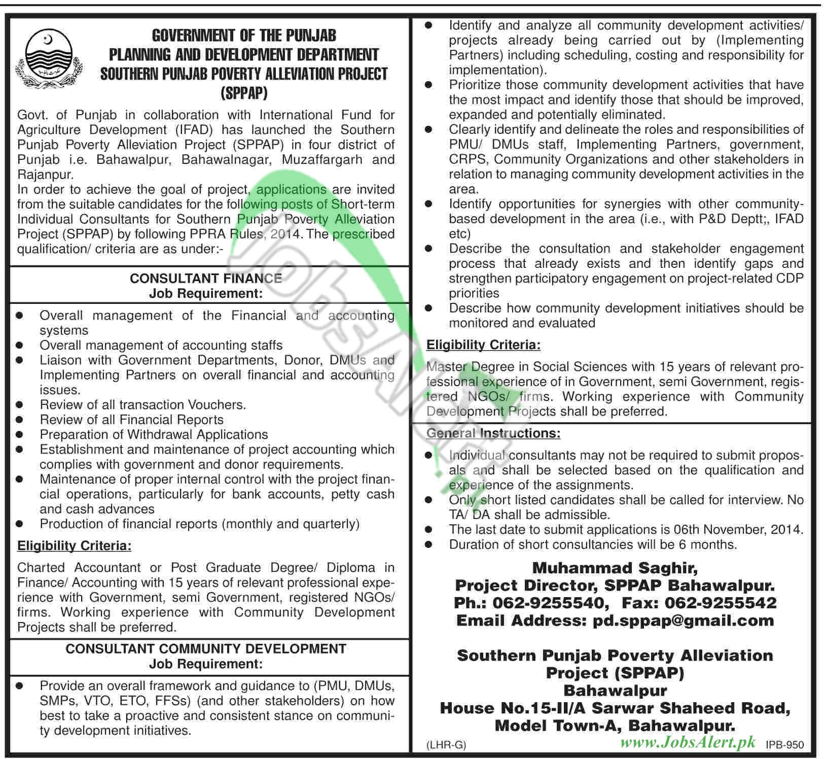 Planning & Development Department Punjab