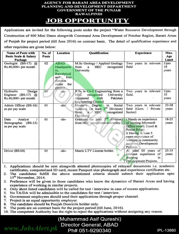 Planning & Development Punjab