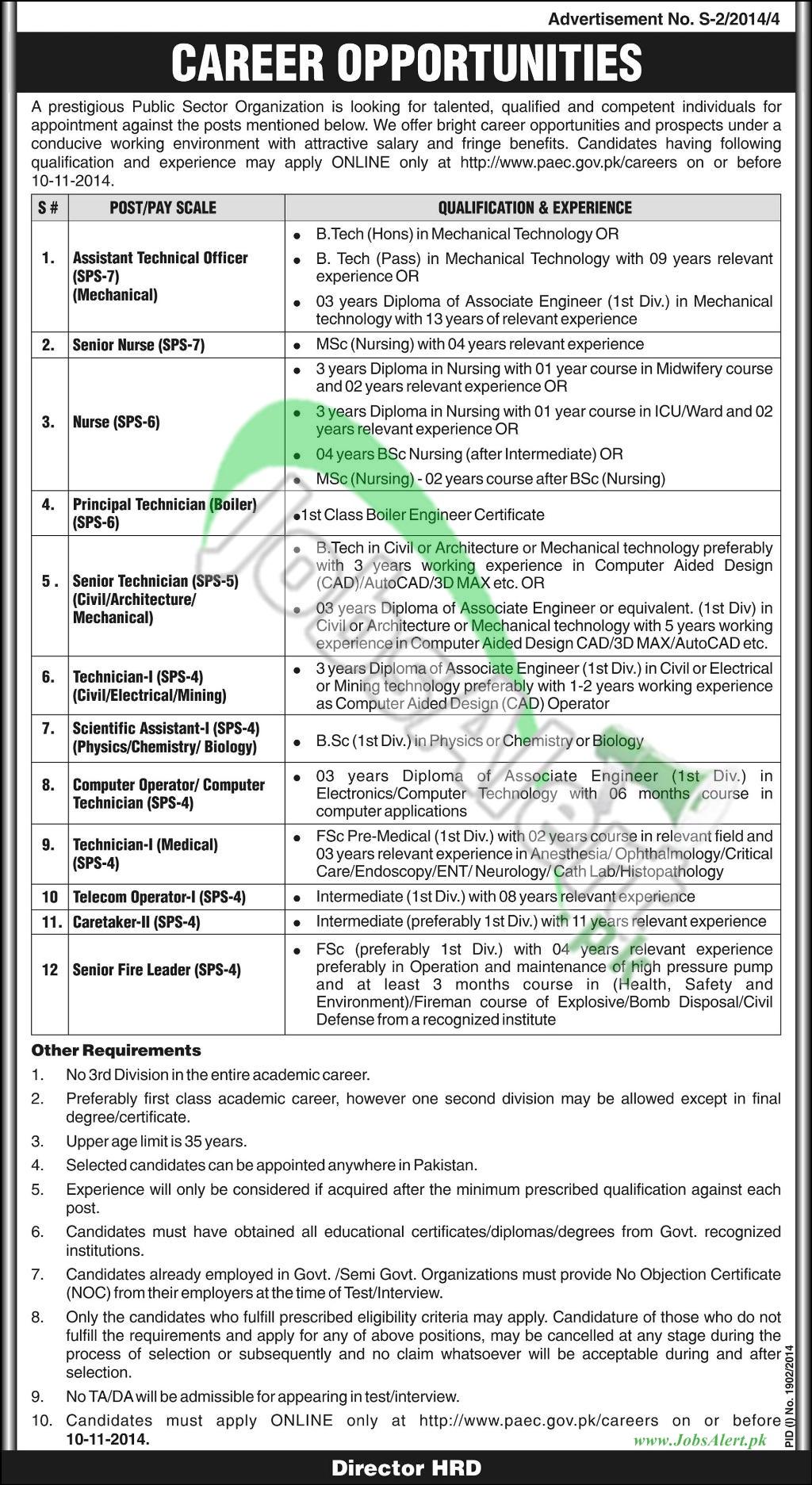 (PAEC) Pakistan Atomic Energy Commission