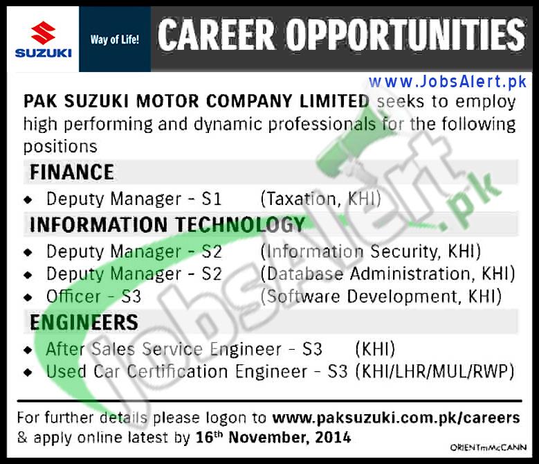 PAK Suzuki Motor Company Ltd.