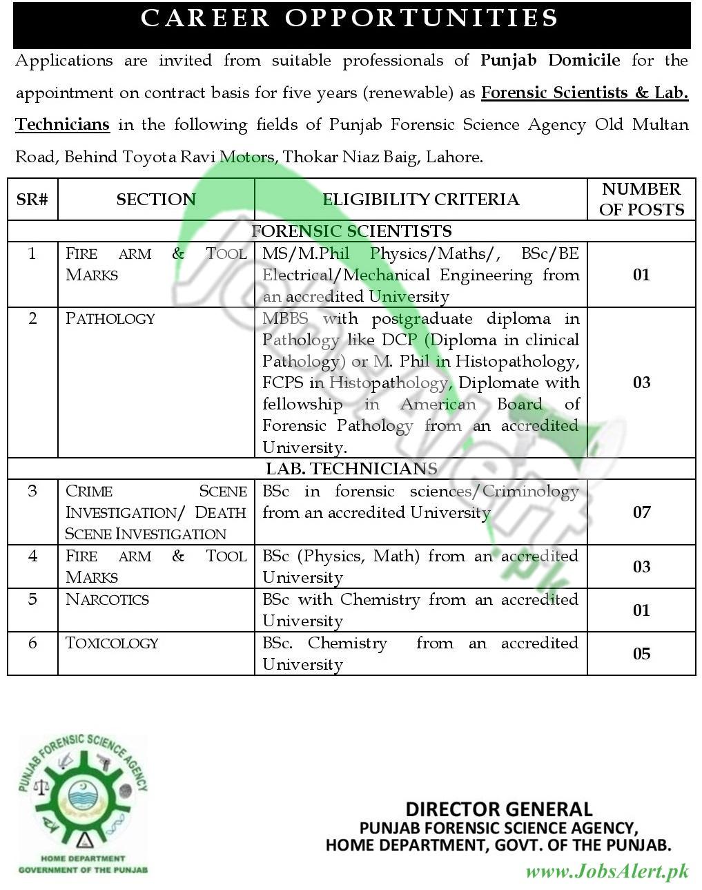 Punjab Forensic Science Agency
