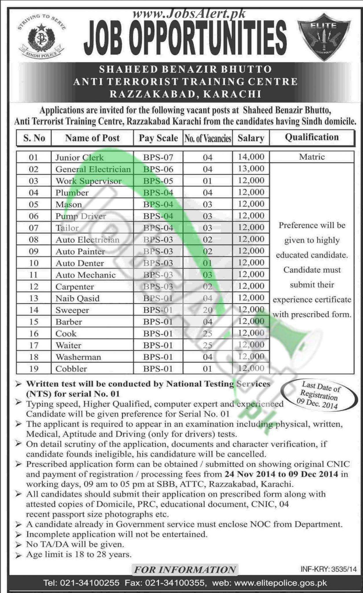 Shaheed Benazir Bhutto Anti Terrorist Training Centre