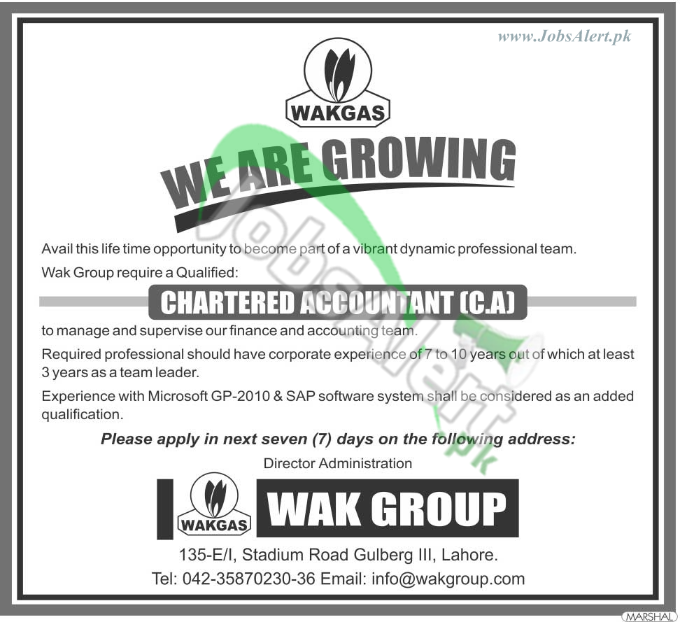 Wak Gas Limited Pakistan