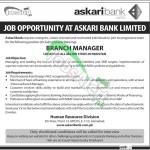 Askari Bank Jobs Dec 2014