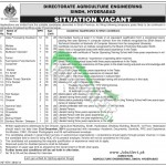 Directorate Agriculture Engineering Sindh