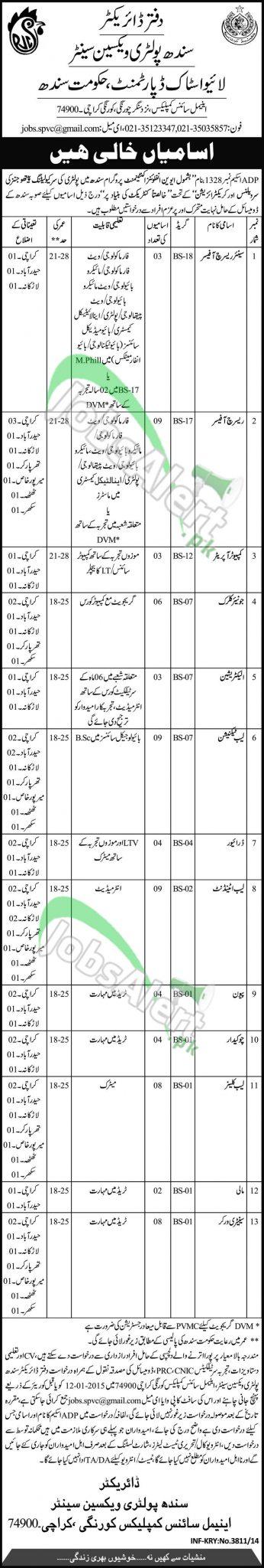 Livestock Department Sindh