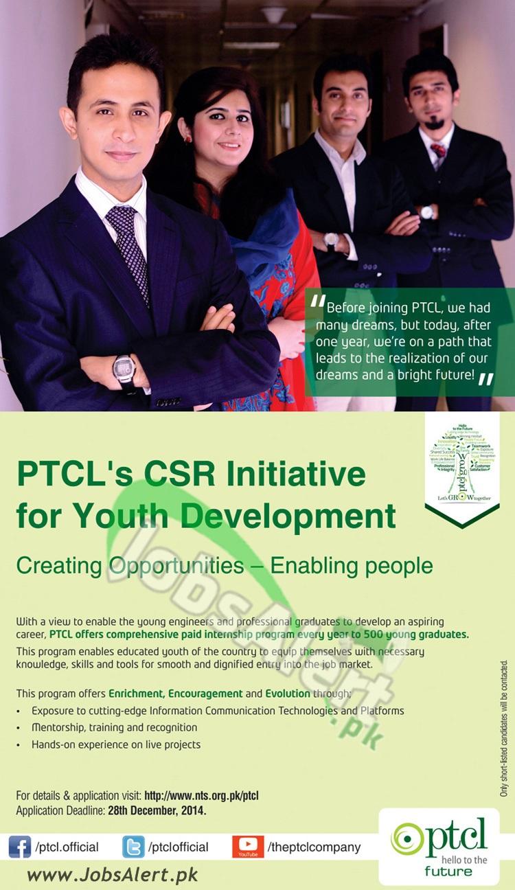 PTCL Internship