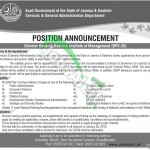 Services & General Administration Department Jobs 2014 Director General