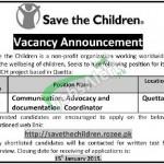 Save the Children Quetta