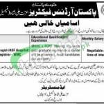 Pakistan Ordnance Factories Wah Cantt