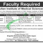 Jobs CMH Multan Institute of Medical Sciences