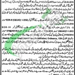 District and Session Court Toba Tek Singh Jobs