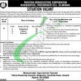 Radio Pakistan Jobs