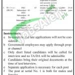 Planning & Development Department Punjab Jobs