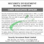 Sindh Investment Bank Ltd Jobs