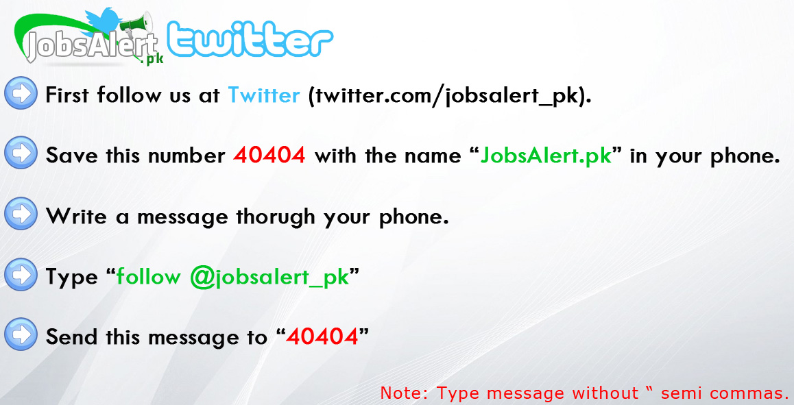 Get Jobs Alert on your mobile in Pakistan Free