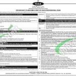 Pakistan Civil Aviation Authority Jobs 2015