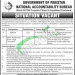 NAB National Accountability Bureau Jobs