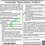 Jobs in Asian Development Bank Pakistan