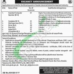 Gwadar Industrial Estate Development Authority Jobs