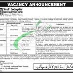 Sindh Enterprise Development Fund Jobs