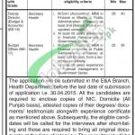 Health Department Punjab Jobs