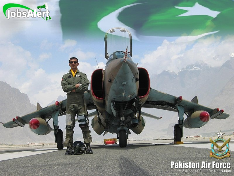 how to join pakistan air force after matric inter fa f