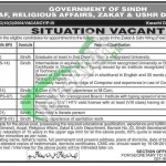 Jobs in Zakat & Ushr Department Sindh