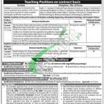 GC University Faisalabad Jobs