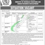 Ministry of Overseas Pakistan Jobs