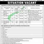 Zoological Survey of Pakistan Islamabad Jobs