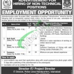 Jobs in Islamabad Police