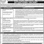 Jobs in UET Peshawar
