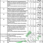 Jobs in Health Department Lahore