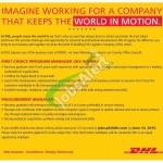 DHL Pakistan Jobs