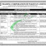 Trading Corporation of Pakistan Karachi Jobs