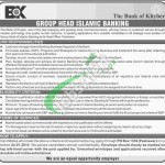 Jobs in Bank of Khyber