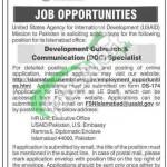 US Embassy Islamabad USAID Jobs