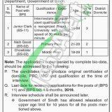Sindh Wildlife Department Jobs