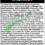 Walled City Lahore Jobs