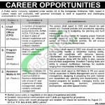 Jobs in Public Sector Organization in Pakistan