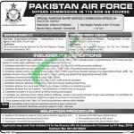 Pakistan Air Force Jobs