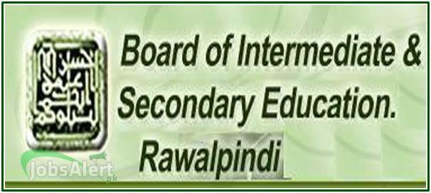 12th Class Result 2018 Rawalpindi Board
