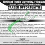 NTU FSD Jobs