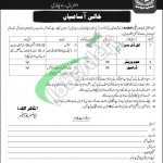 Federal Govt TB Center Rawalpindi Jobs
