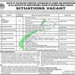 Sindh Board of Revenue Jobs