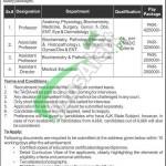 Jobs in AJK Medical College Muzaffarabad