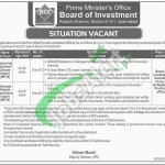 Board of Investment Pakistan Jobs